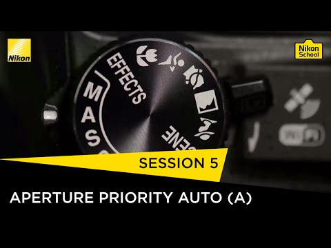 Nikon School D-SLR Tutorials - Aperture Priority Auto (A) - Session 5