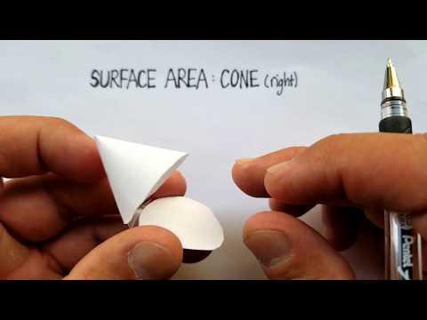 Surface Area: Cone (Right)