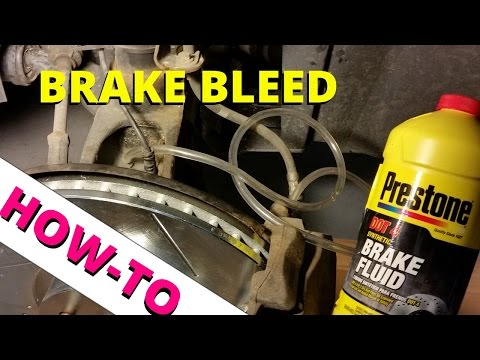 How To Bleed Your Ford Escape Disc Brakes: HOW TO ESCAPE