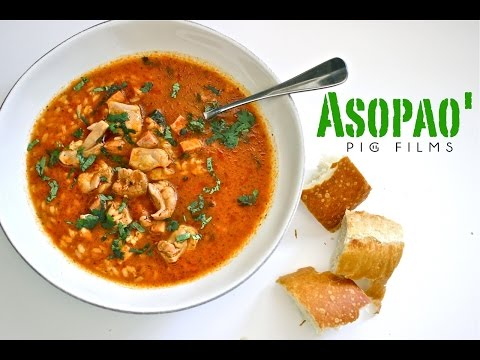 Asopao' Puerto Rican Chicken & Rice Soup