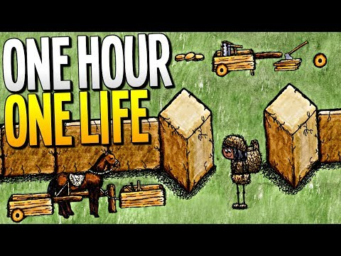 BUILDING NEW INVENTIONS FOR THE CITY IN OUR SECRET LAB - One Hour One Life Gameplay