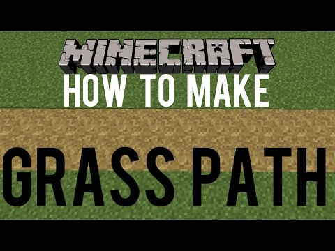 How To Make Grass Path Minecraft 1.9 - Snapshot 15w31a