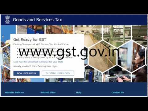 how to Online GST Registration / GST Registration Process / GST Registration requirement (हिंदी)