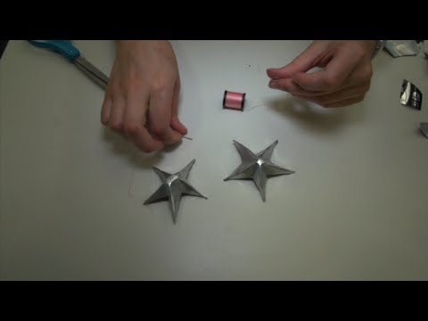 Earth Day craft: Soda can stars!