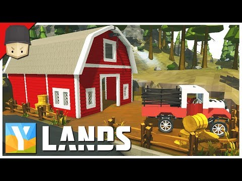 YLANDS - THE BARN! : Ep.39 (Survival/Crafting/Exploration/Sandbox Game)