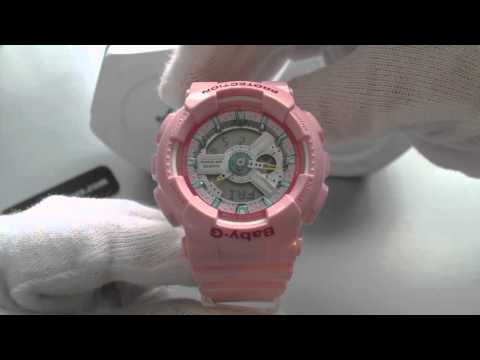 Casio Baby G Digital Analog Pink Sports, Watch BA110CA-4A