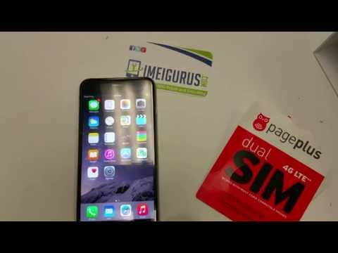 Sprint IPhone 6+ Unlocked getting 4GLTE on Page Plus - by IMEIGurus.com