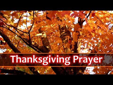 Short Thanksgiving Prayer