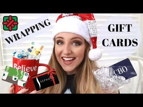 5 COOL WAYS TO WRAP GIFT CARDS