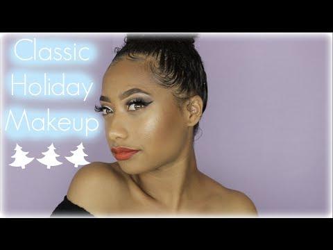 Classic Holiday Makeup Look  Tatyana Celeste ❤︎