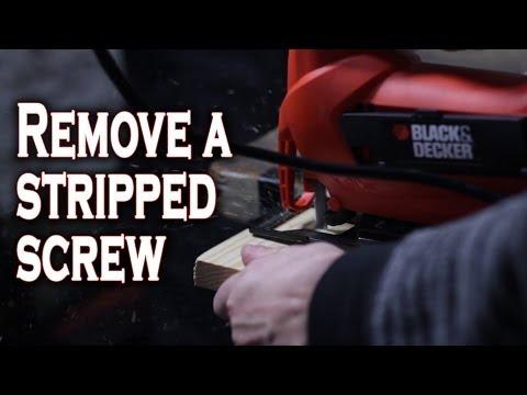 5 Ways to Remove Stripped Screws