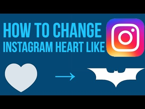 How To Change Instagram Like From Heart To Any other Image!!![No Root]