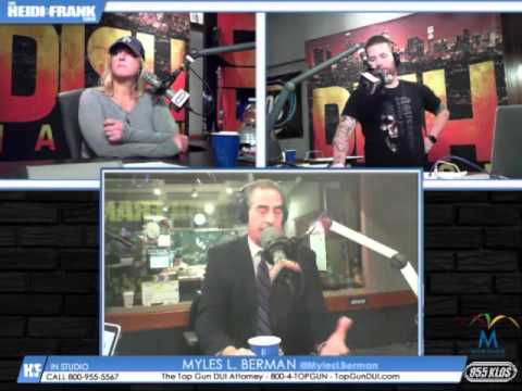 Myles L. Berman® interviewed on Thursday, December 17, 2015, by Heidi & Frank on KLOS 95.5 FM