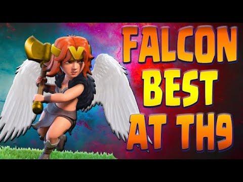 FALCON TH9 | NEW TOP Attack | Ultimate GUIDE | Clash of Clans