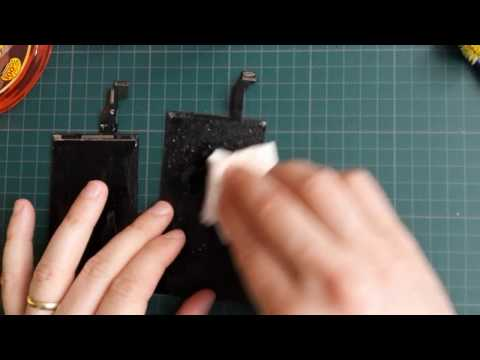 TOP 5 TRICKS How to remove LOCA glue from LCD display (Czech + subtitles)