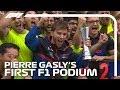 Pierre Gasly39s First F1 Podium 2019 Brazilian Grand Prix