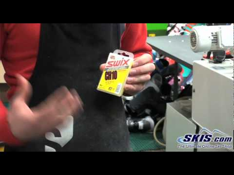 Explaining the Different Types of Ski Wax