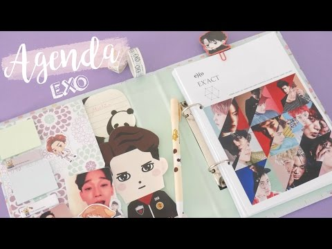 DIY K-POP :  AGENDA  EXO 2017 with English subtitles