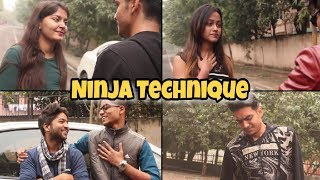 Ladki Fasaney ki Ninja Technique - | Rachit Rojha |