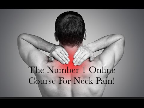 How to fix a disc bulge in your neck and pinched nerves- 100% money back guarantee