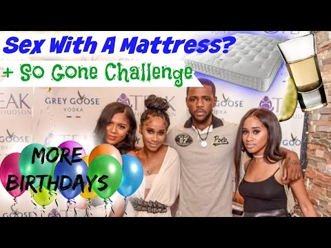 Vlog  He Had Sex With A Mattress? + So Gone Challenge!   Nae and Nea