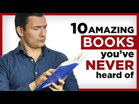 10 AMAZING Books You've NOT Read! Books ALL Successful Men Should Read