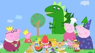 Peppa Pig Episodes - Peppa Loves Food! - Cartoons for Children