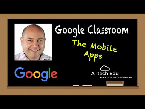 The Google Drive made easy in the classroom - Google Classroom tutorials The mobile App iPad iPhone