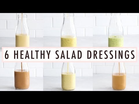 6 Healthy Homemade Salad Dressings That Are SO Easy to Make
