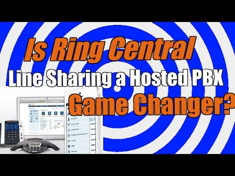 Does Ring Central Line Sharing Change the Hosted PBX Game? Best Hosted PBX?