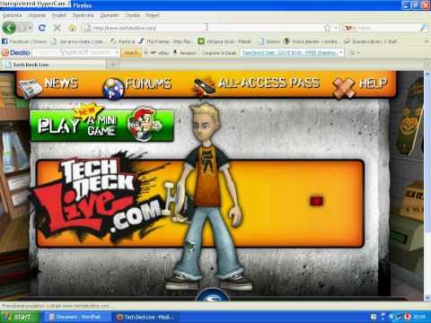 Tech deck live game problem