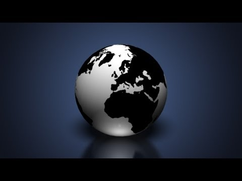 Create a 3D Earth Globe in Photoshop CS6 Extended