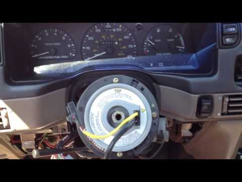 Remove Ford Steering wheel without a puller