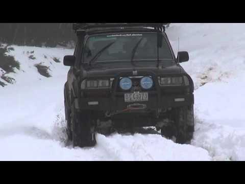 4x4 Adventure - Mt Skene Snow Drive (July 2014)