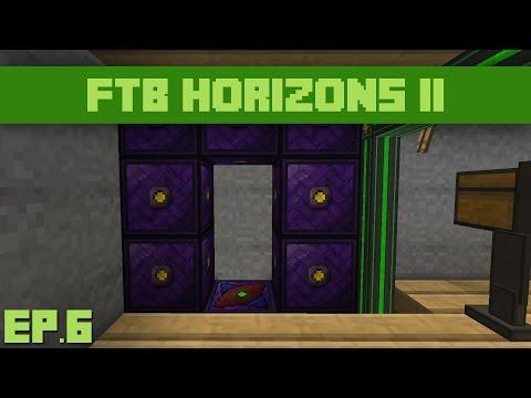 FTB Horizons Daybreaker : Ep.6 - Mekanism Teleportation