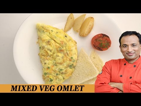 Healthy Mixed Vegetable Omelet - Be Fit Be Cool AAPI VahRehVah