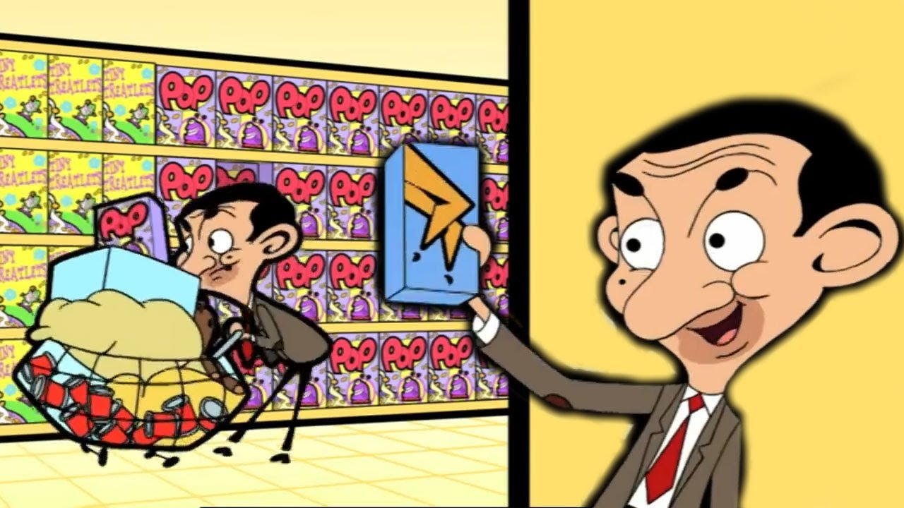 SHOPPING with Mr Bean | Funny Episodes | Mr Bean Cartoon World