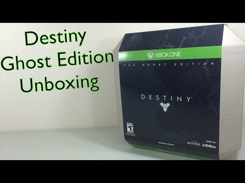 Destiny Ghost Edition Unboxing