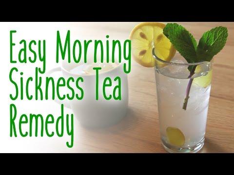 Easy morning sickness tea remedy