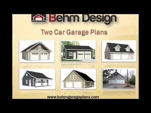 How can we get 2 car garage plans