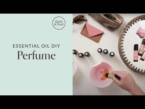 Essential Oil Perfume DIY