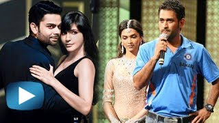 Deepika - M.S Dhoni, Raina - Shruti Hasan : Bollywood Cricket Link-Ups