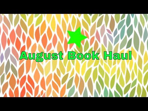 JOE'S BOOK HAUL - AUGUST