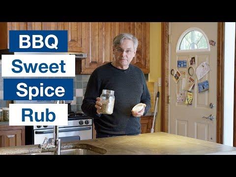 Down Home Sweet BBQ Spice Rub Recipe || Le Gourmet TV Recipes