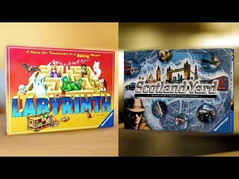 Ravensburger Labyrinth Scotland Yard Game 2017
