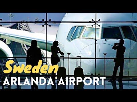 Arlanda International Airport Stockholm *HD*