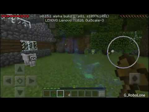 Cara menanam Cocoa beans -How to plant Cocoa beans in minecraft pocket edision