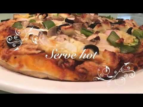 Easy Homemade Pizza | Dominos Cheese Burst Pizza at home
