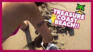 Treasure Coast Beach detecting road trip, Nikki