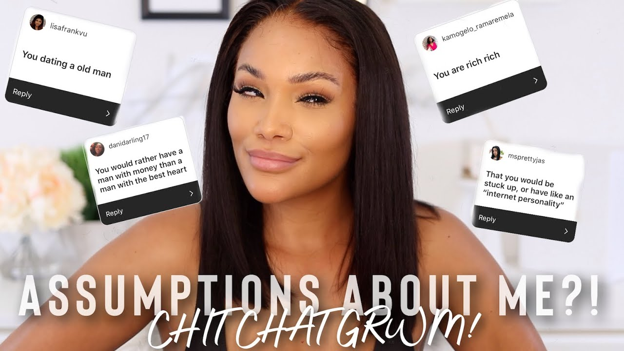 CHIT CHAT GRWM   ANSWERING YOUR ASSUMPTIONS ABOUT ME! HAIR EDITION   DIVASWIGS   ALLYIAHSFACE
